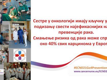 18. maj – Dan onkoloških sestara Evrope