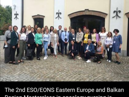 2nd ESO/EONS Eastern Europe and Balkan Region Masterclass in oncology nursing